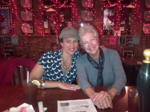 Me and Mum at the Ale House in Gardner Oct 15 2013