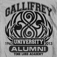 Mixed Tees Gallifrey University Shirt Image