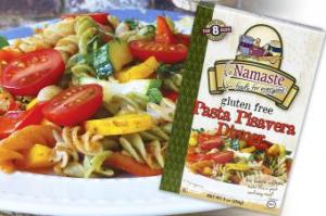 Namaste Gluten Free Pasta Pisavera Dinner