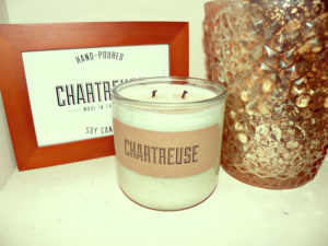 Chartreuse Candles