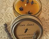 lovebes lavendar candles
