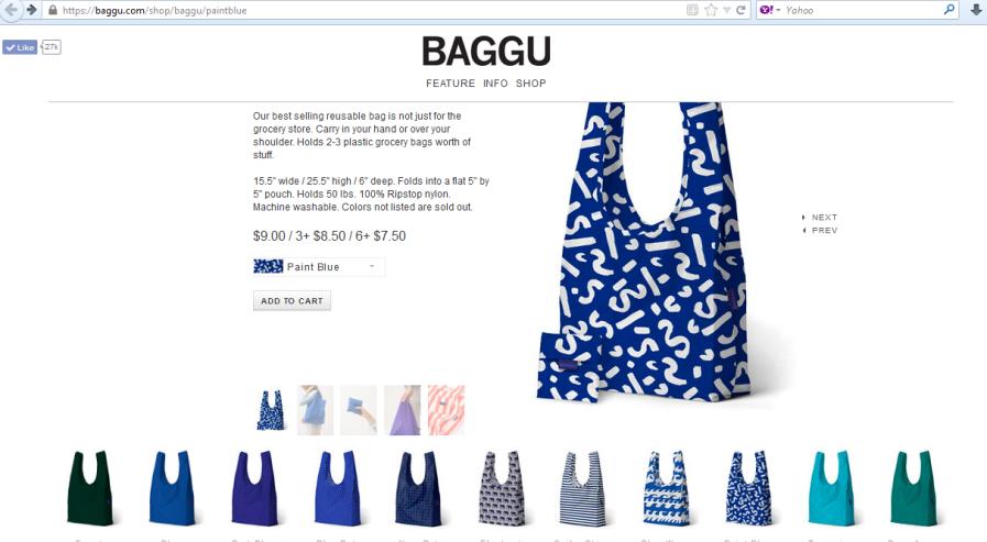 baggu, my favorite